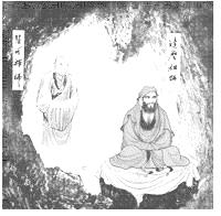 Boddhidharma und Shenguang